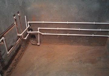 Как провести водопровод в доме