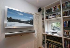 Мелкосрочный ремонт в Миассе. Навес телевизора на стену.