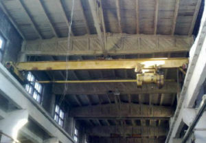 Ремонт кран балок в Миассе. Регулировка концевой гирьки подъема блока шкивов. Ревизия осуществлен в короткие сроки профессионалами.