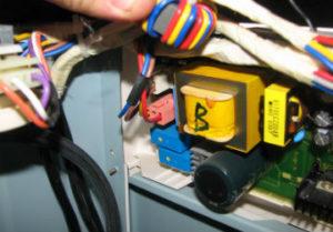 Недорогой ремонт стиральной машины в Златоусте. Замена трансформатора.