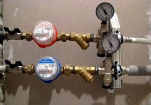 Установка водосчетчиков горячей и холодной воды в Челябинске.
