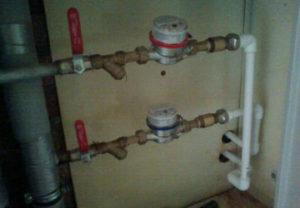 Замена пластиковой трубы и установка водосчетчиков в Копейске.