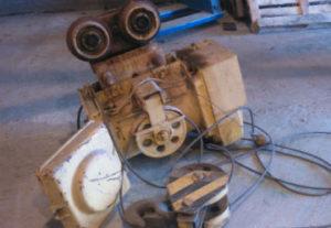 Ремонт тельфера в Копейске. Снятие установки с балки. Полная ревизия.
