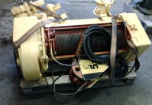 Ремонт электротали в Миассе. Перемотка троса на 5 тонн.