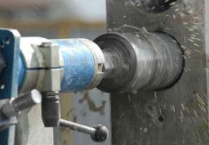 Алмазное бурение в Челябинске. Выполнено строго по проекту с точностью до мм.