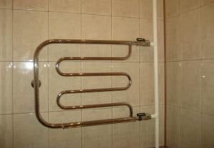 Замена полотенцесушителя в Челябинске, ванна под ключ.