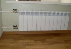 Замена радиаторов отопления в квартире Златоуста. Заказчики довольны.