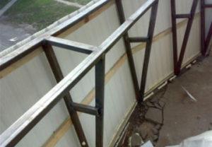 Сварочные работы в Копейске. Вынос балконного перекрытия.