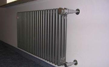 Установка радиаторов отопления в Копейске. Дизайнерское решение.