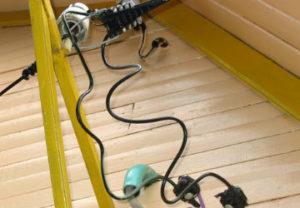 Подвод электропитания на участок в Златоусте. Кабель сип с фурнитурой закуплен у нас.