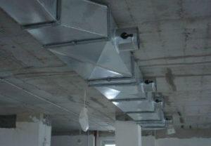 Установка вытяжной вентиляции