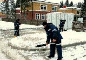 Уборка снега в Копейске
