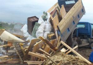 Вывоз деревянного мусора
